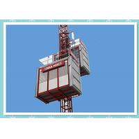 Buy cheap Twin Cage 2 Ton Rack & Pinion Construction Material Lifting Hoist from wholesalers