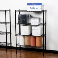 Buy cheap OEM Paper Divider Commercial Wire Racks Adjustable Storage Shelving 14X 30X 42 from wholesalers