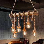 Buy cheap Antique Vintage Pendant Lamps Hemp Rope Light Fixture Ac85-265 V  50/60 hz from wholesalers