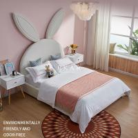 Buy cheap Modern Design Affordable Children Bedroom Furniture Girl Kid Bed Rabbit Headboard Cute Bed from wholesalers