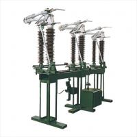 Buy cheap Electricity Isolation Outdoor High Voltage Disconnect Switch 126kv Single Pole from wholesalers