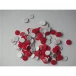 Buy cheap 11mm Open Top Aluminum Crimp Assembled Septa & Caps for 12X32mm vials from wholesalers
