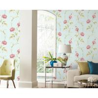 Buy cheap TV Background Mould-Proof Modern Removable Flowers Wallcovering Wallpaper Eco-Friendly from wholesalers