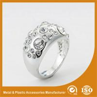 Buy cheap Custom Silver Diamond Fashion Rings Rose Gold Rings For Women from wholesalers