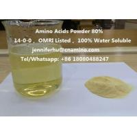 Buy cheap Compound Amino Acids Powder 80% 70% 60% 52% 50% 45% 40% Organic Fertilizer, 14-0-0, OMRI Listed from wholesalers