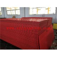 Buy cheap Red anti-slip 2440x1220x12.7mm HDPE ground protection track mats from wholesalers