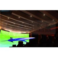 Buy cheap Flat screen 4D movie theater , curved screen , special effect product