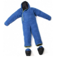 Buy cheap 6.2kg Blue Down Wearable Sleeping Bag Suit Clothes Dress from wholesalers