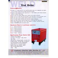 Buy cheap High Efficiency Drawn Arc Stud Welding Machine 6 - 25mm Studs With Shear Connector from wholesalers