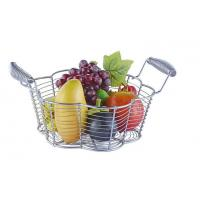 Buy cheap Food Grade Metal Mesh Wire Fruit Basket Stainless Steel Material For Home Storage from wholesalers