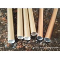 Buy cheap T3 ~ TT8 20 x 20 Aluminium Oxide Round Tube With Golden and Copper Color from wholesalers