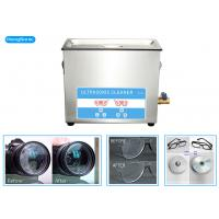 Buy cheap SUS304 Tanks Ultrasonic Cleaning Machine With 450W Heating Power 10L from wholesalers