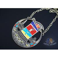 Buy cheap Two Tone Plating Die Struck Medals , 3D Design Happy Birthday Medals For Kids from wholesalers