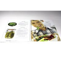 Buy cheap 300gsm Art Paper Cook Book Offset Printing Services With Wire - O / Spiral Binding from wholesalers