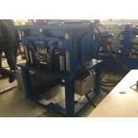 Buy cheap Hydraulic Downpipe Roll Forming Machine Bending Elbowing PLC Control Box from wholesalers