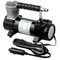 Buy cheap 2 In 1 Portable Metal Single Cylinder Air Compressor With Light  / Bag And Hose from wholesalers