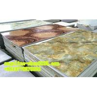 Buy cheap PVC imitation marble sheet three roller calender laminating and extruder machine product