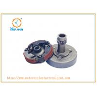 Buy cheap Primary Clutch for C100 / Black Yellow Motorcycle Clutch Kits / Motorcycle Spare Parts Clutch Shoe product