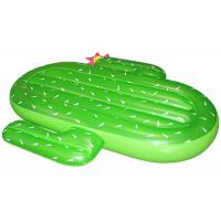 Buy cheap Green Cactus Pool Float for Summer Swimming Pool , 180*140cms Foam Water Mat from wholesalers