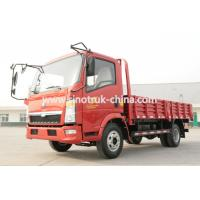 Buy cheap 4x2 Howo Cargo Light Duty Commercial Trucks 5 - 10T Capacity 4.257 L Displacement from wholesalers