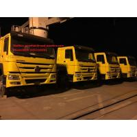 Buy cheap 6x4 Yellow Color SINOTRUK HOWO Tow Tractor Truck RHD 10 Wheels 371 HP ZZ4257S3241W from wholesalers
