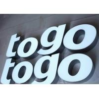 Buy cheap Custom Backlit Waterproof LED Channel Letters Signs For Chain Stores LOGO from wholesalers