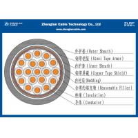 Buy cheap 19 Cores Unarmoured Electrical Control Cable For Supervisory Electrical Equipment from wholesalers