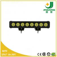 Buy cheap Waterproof IP67 CREE Chip 80w LED Light Bar Off Road Made In China from wholesalers