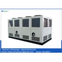 Buy cheap 100 tons Air Cooled Screw Chiller with 2 Unit Compressors from wholesalers