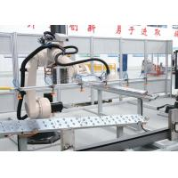 Buy cheap Bulldozer Beam Robotic Assembly Systems , Tipping Automatic Production Line from wholesalers