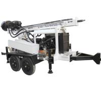 Buy cheap Trailer Mounted Portable Water Well Drilling Rig Machine from wholesalers