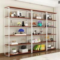Buy cheap Cast Iron Metal Shelving With Wood Shelves Modern Appearance Easy Installation from wholesalers