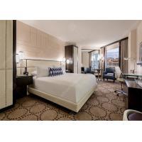 Hotel Luxury Furniture Classical Style , Genuine PU Leather Modern Hotel Furniture