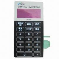 Buy cheap LED Membrane Switch, All Keys are Uninterrupted Light, with Contact Resistance from wholesalers