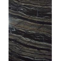 Buy cheap Decorative Industrial Marble Stone Slab 2.68 G / Cm³ Density Black Color from wholesalers
