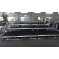 Buy cheap Toughened Glass Movable Stage Platform / Temporary Stage Platforms from wholesalers