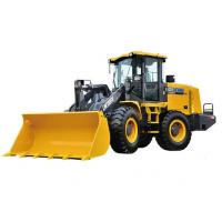 Buy cheap 4 Wheel Drives LW300FV Earthmoving Machinery compact wheel loader Safe Driving Space from wholesalers