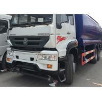 Buy cheap High Pressure Water Tank Truck With Pneumatic Control / Manual Control System from wholesalers