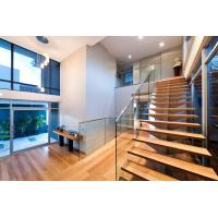 Buy cheap Stainless steel spigot glass railing/ glass balustrade with laminated glass panel from wholesalers