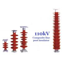 Buy cheap 110 kV Polymer Line Post Type Insulator Safety For Power Substations from wholesalers