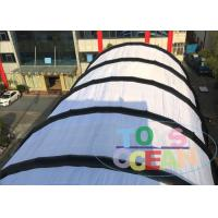 Buy cheap Large Sport Court Exhibition Show Inflatable Tents , WaterProof Football Soccer Field Tent On Grass from wholesalers