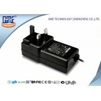 Buy cheap Black Wall Mounted 12V Power Adapter 1.5M Cable 3 Prong Plug With CE Certificate product