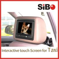 Buy cheap Taxi Touch Advertising Screen with CMS from wholesalers