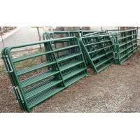 Buy cheap 4ft x 9ft Cattle Horse yard panels for Unite States Farm 40mm tubing cattle fence panels from wholesalers