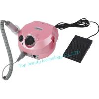 China Multi - function Pink 35W 50Hz - 60Hz Nail Designs Machine for Pedicure and Manicure on sale
