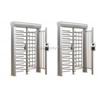 Buy cheap Automatic Turnstiles Security Pedestrian Gate Full Height Turnstile from wholesalers
