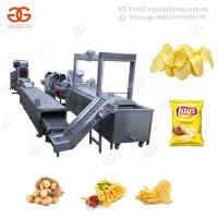 Buy cheap Automatic Pork Skin Chicken Deep Frying Onion Rings Plantain Banana Production Line Potato Chips Conveyor Fryer Machine from wholesalers