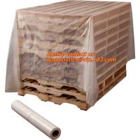 Buy cheap Pallet Cover, plastic Pallet bag,reusable pallet cover, clear plastic flat bottom bag pallet cover proof dust cover furn from wholesalers