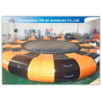 Buy cheap 0.9mm Pvc Tarpaulin Inflatable Water Game Platform 6.5m Diameter For Air Water Toy product