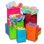 Buy cheap Matte Laminate Jewelry Gift Bags / Custom-printed Jewellery Paper Bag from wholesalers